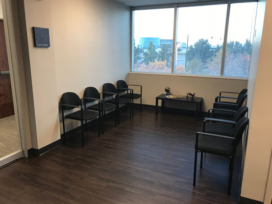 Chiropractic McKinney TX Waiting Room