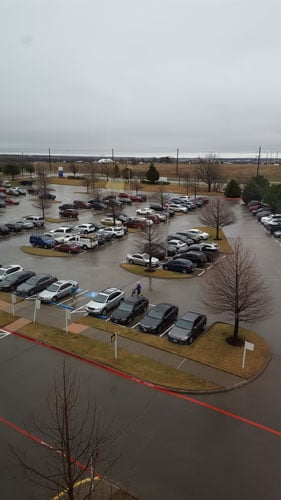 KC CORE Frisco TX parking lot